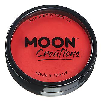 Moon Creations-Pro ansikt & Body Paint Cake Potter-lys rød