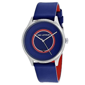 Ted Lapidus Men's Classic Blue Dial Watch - 5131902