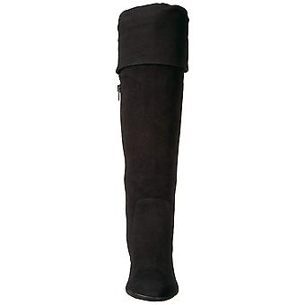Aerosoles Damskie Lavender Leather Zamknięte Toe Knee High Fashion Boots