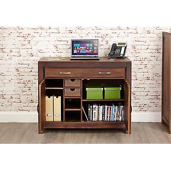 Nogueira Maia oculto Home Office Brown - Baumhaus