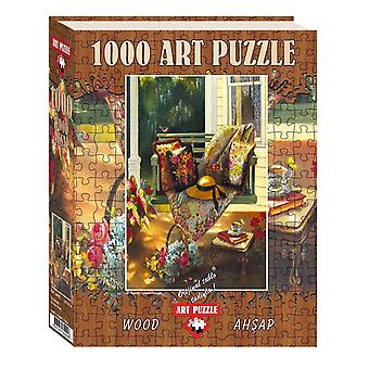 Heidi Heidi4440 Summer Shade Wooden Art Puzzle Toy (1000 Pieces)