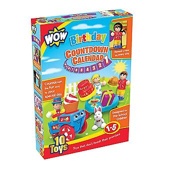 Wow Toy Birthday Countdown Calendar Toy