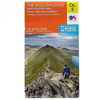 New OS Explorer OL 5 The Lake District: North-eastern area Orange