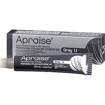 Apraise grey eyelash & eyebrow tint - no.1.1 20ml