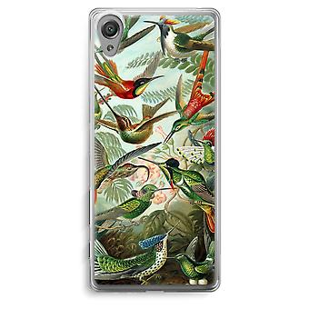 Sony Xperia XA Transparent Case - Haeckel Trochilidae