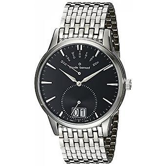 Watch Switzerland Claude Bernard 3 m NIN 34004 - shows date display dial black man