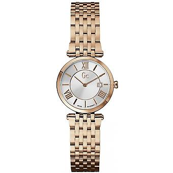 Watch Gc X57003L1S - round gold pink woman