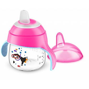 Avent Drinking Cup With Tuit Pink