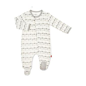 Magnetic Me™ Modal Magnetic Baby Footie