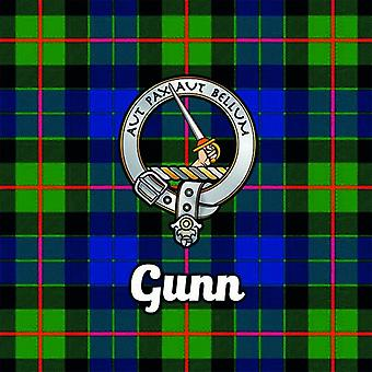 Art2Glass Tartan Clan Coaster - Gunn