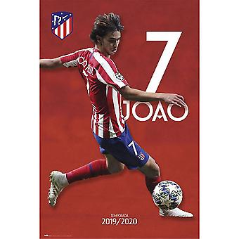 Atletico Madrid FC Joao Felix Atletico Affisch