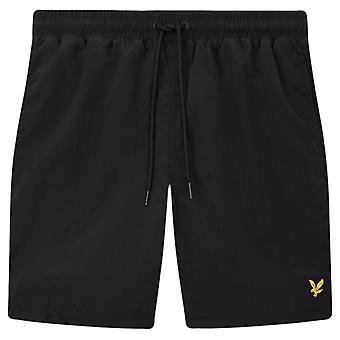 Lyle and Scott Plain Swim Shorts - Jet Black