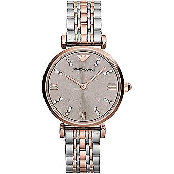 Emporio Armani Ar1840 Stainless Steel Rose Gold Ladies Watch