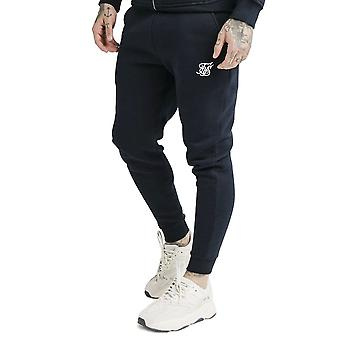 Sik Silk Ss-16079 Muscle Fit Jogger - Navy