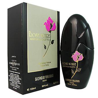 Rose noire for women by giorgio valenti 3.4 oz parfum de toilette spray