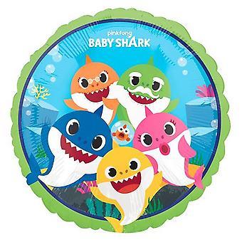 Anagram Circle Shark Balloon