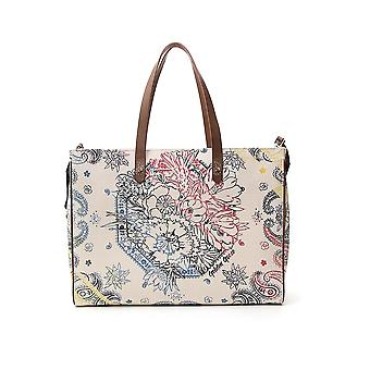 Golden Goose G36wa878a7 Women's White Polyester Tote