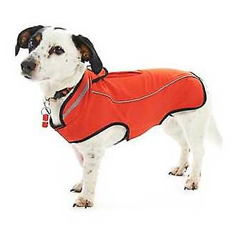 Kruuse Impermeable para Perros Buster Rojo (Dogs , Dog Clothes , Raincoats)