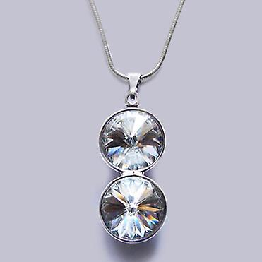 Pendant necklace with Swarovski crystals PMB 3.4