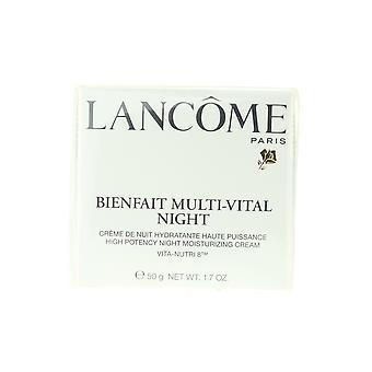 Lancome Bienfait flere viktige natten fuktighetsgivende krem 1,7 oz/50 g ny i boks