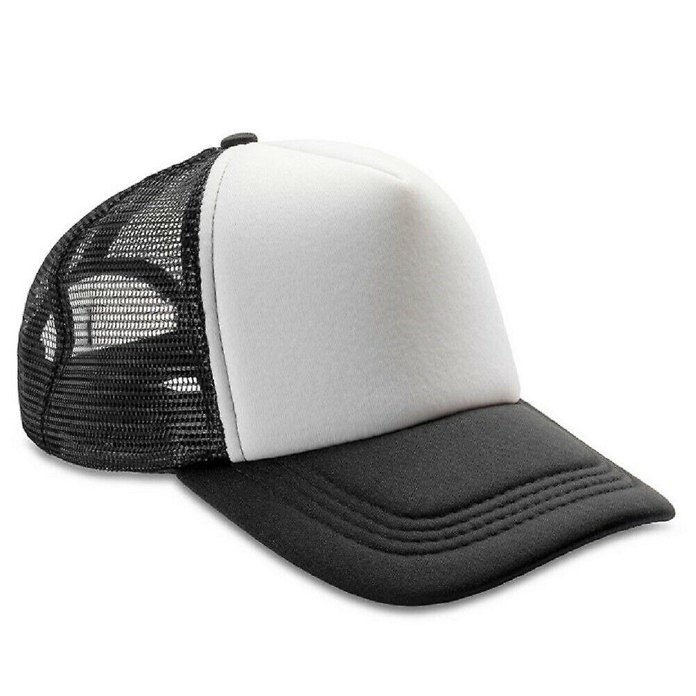 Result Headwear Mens Core Detroit 1//2 Mesh Truckers Cap RW7249