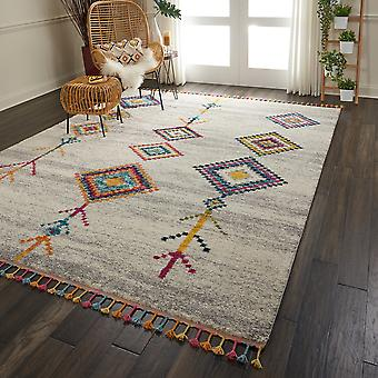 Nomad Rugs Nmd04 By Nourison In Cream Grey