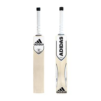 adidas XT 3.0 Inglese Savando Junior Cricket Bat White