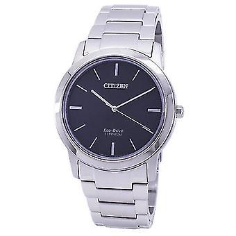 האזרח Eco-כונן טיטניום Aw2020--82 l גברים ' s שעון