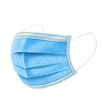Protège-dents de 15 paquets, masque respiratoire à 3 couches - Bleu