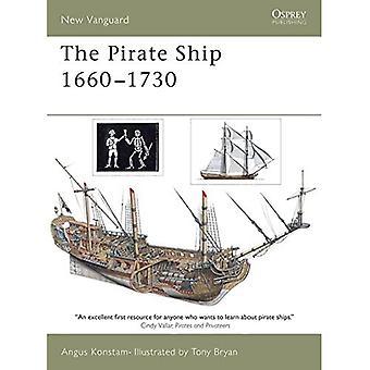 The Pirate Ship 1660-1730: 70 (New Vanguard)