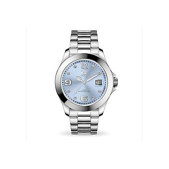 Ice Watch Klocka Unisex ICE stål Classic Ljusblå SR Medium 016775