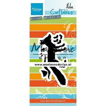 Marianne Design Craftables Schneiden Stanzen - Fuchs von Marleen CR1484 88x44 mm