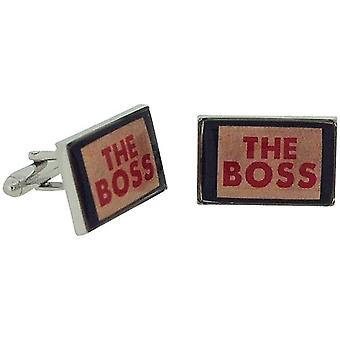 Ministry of Chaps The Boss Splendid Pair Of Cufflinks Set in Gift Box HM710