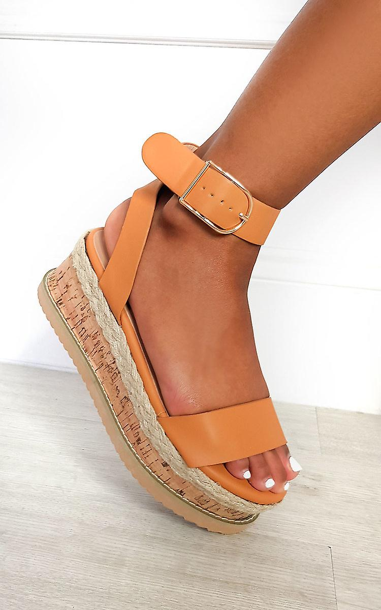 IKRUSH Womens Daisy Strappy Platform Sandals N5nKp