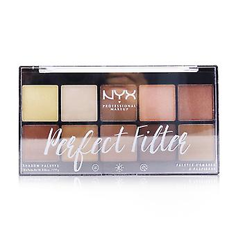 NYX Perfect Filter Shadow Palette - # Golden Hour 10x1.77g/0.06oz