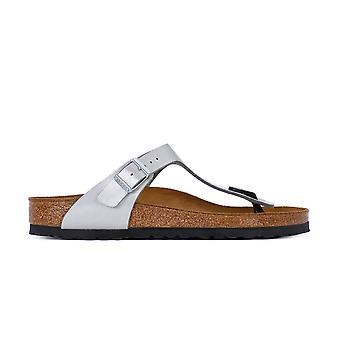 Birkenstock Gizeh Zarif Gümüş 1009604 evrensel yaz kadın ayakkabı