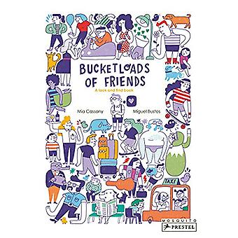 Bucketloads of Friends - A Look and Find Book by Mia Cassany - 9783791
