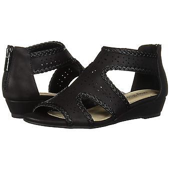 Easy Street mulheres ' s Thelma vestido casual sandália com volta zipper Cunha