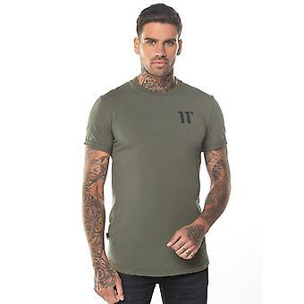 Eleven Degrees 11 Degrees 11d-001-010 Core Half Sleeve T-shirt - Khaki
