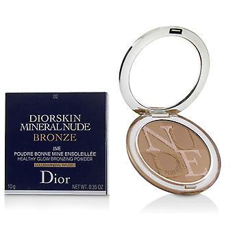 Diorskin minerální nahý nahý zdravý lesk bronzování prášek # 02 měkké sluneční světlo 229659 10g/0.35oz