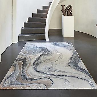 Galleria moderne abstrakte geschnitzte Teppiche 63618 8656 In blau