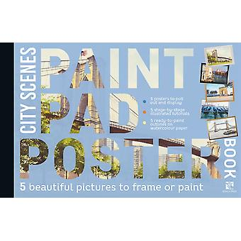 Paint Pad Poster Book City Scenes by Geoff Kersey