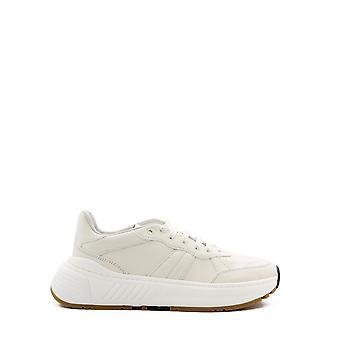 Bottega Veneta 565646vt0409117 Heren's Witte Leren Sneakers