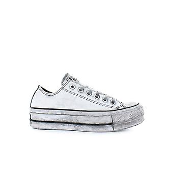 CONVERSE ALL STAR PLATFORM WHITE SMOKE IN SNEAKER