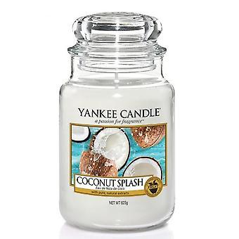 Yankee Kynttilä Klassinen Suuri Purkki Coconut Splash 623g