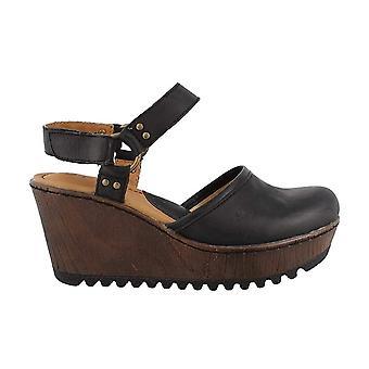 B.O.C Womens Rina Leather Open Toe Casual Platform Sandals