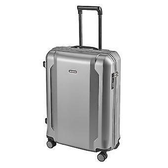 d&n Travel Line 8100 Handbagage Trolley S, 4 wielen, 54 cm, 39 L, zilver
