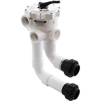 "Waterway WVD001 Multiport Valve Side Mount med Unions 2"" FPT"