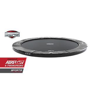 BERG FlatGround Elite 380 12.5ft Trampoline Sports Series Grey