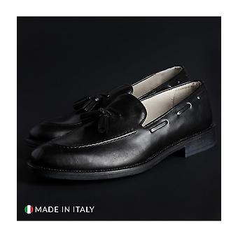 SB 3012 - Shoes - Moccasins - 1001_CRUST_NERO - Men - Schwartz - EU 42